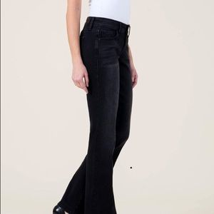 Level 99 Chloe Boot black stretch jeans size 28